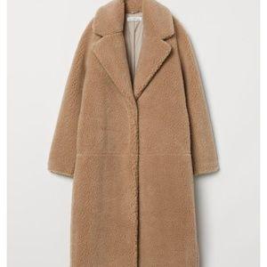 Long Pile Coat H&M